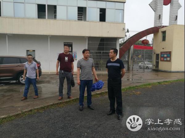 安陆市教育局领导到南城初中开展安全检查工作[图1]