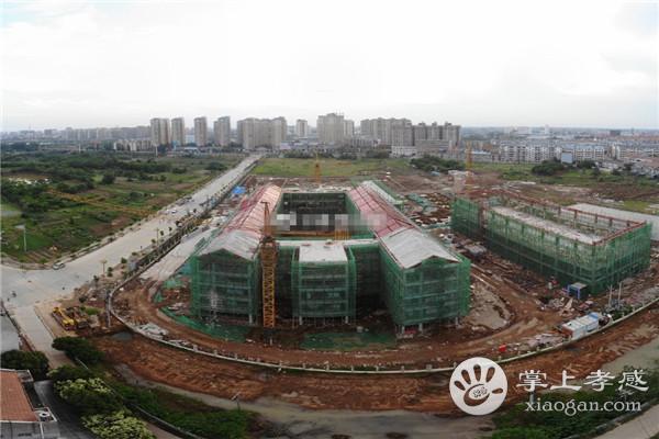 孝感市孝南区远大学校正在加快建设中[图1]