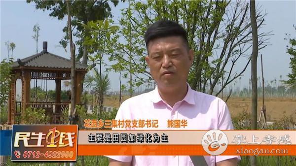 """孝昌县花西乡三集村建设美丽""""田园风光""""新农村[图4]"""