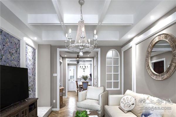 孝感客厅装修应该选择什么样的吊顶?客厅吊顶主要有哪些造型?[图2]