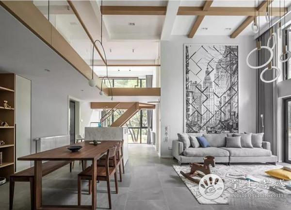 孝感复式房楼梯装修扶手材质哪种好?复式房楼梯款式材质选择![图1]
