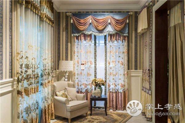 孝感客厅装修应该选择什么类型的窗帘?选择窗帘应该注意什么?[图1]