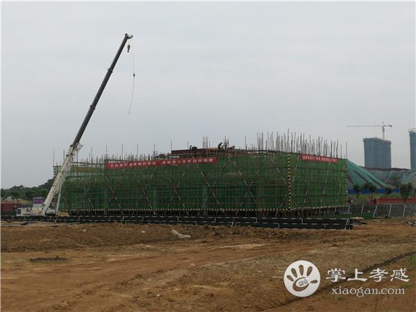 湖北交投·颐和华府6月份工程进度:营销中心建至2层[图5]