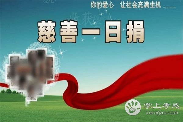 """大悟县组织开展""""慈善一日捐""""活动[图1]"""