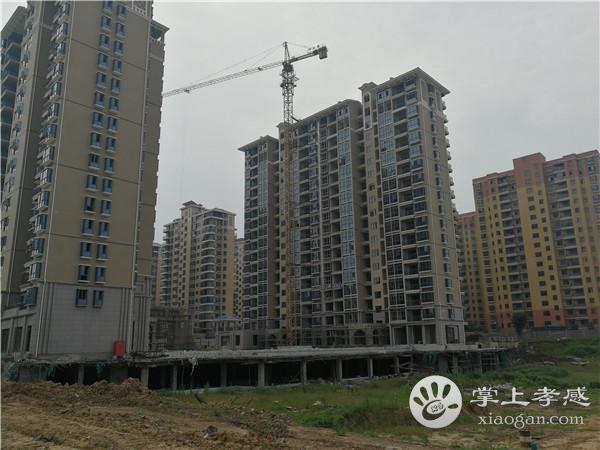 孝感港锦新城7月份工程进度:12#楼正在打地基[图2]