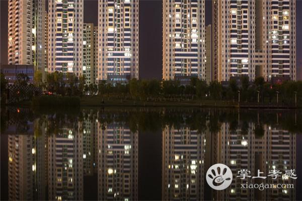 夜幕下的孝感澴川公园,这样的景色你见过吗?[图2]