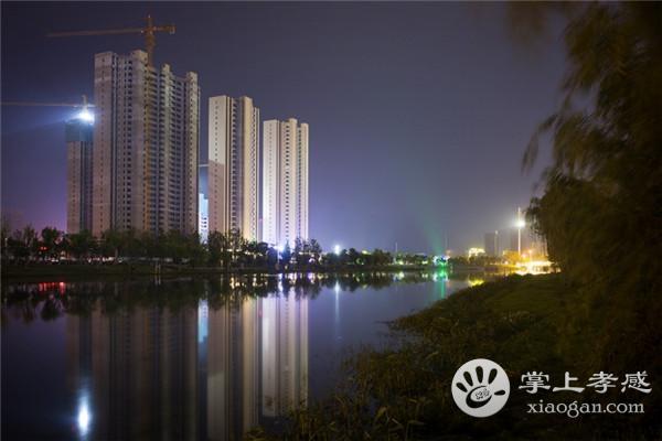 夜幕下的孝感澴川公园,这样的景色你见过吗?[图4]