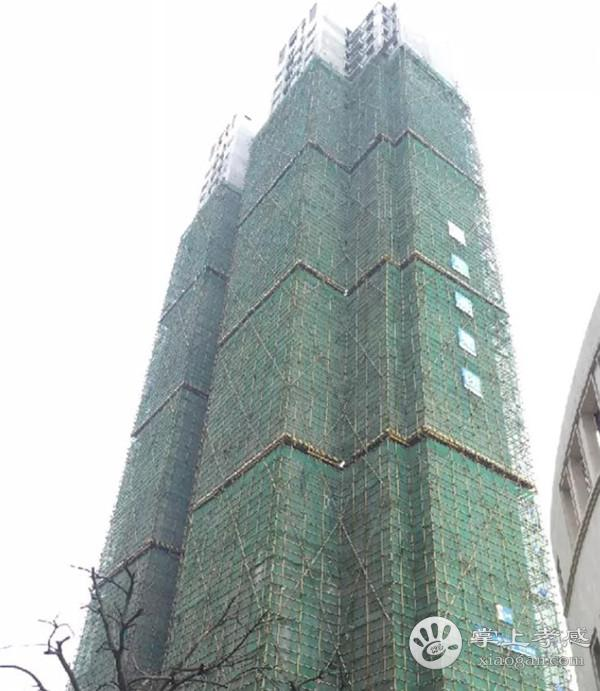 孝感新城悦隽7月工程进度:G1#、G2#、G5#二层及以上内外墙抹灰施工已完成[图1]