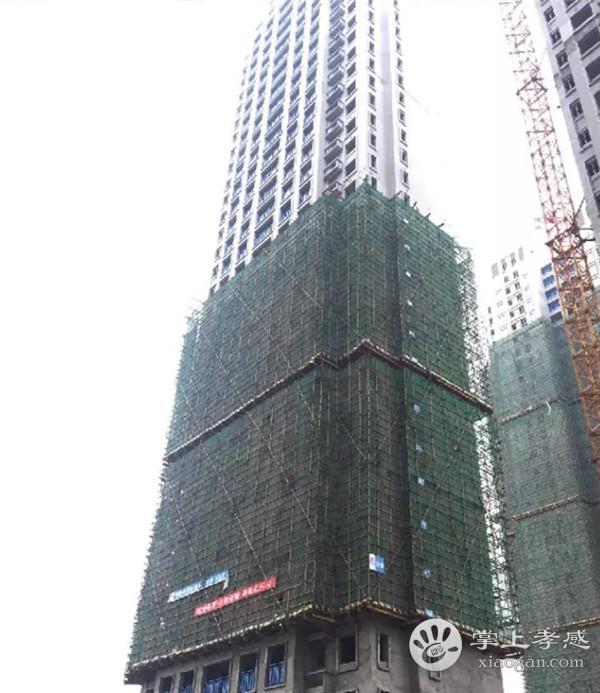 孝感新城悦隽7月工程进度:G1#、G2#、G5#二层及以上内外墙抹灰施工已完成[图2]