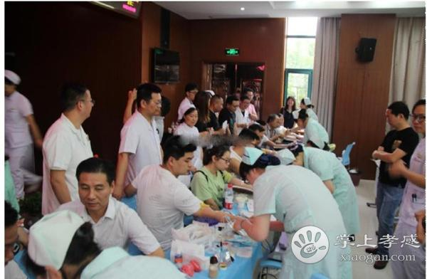 孝感市中心血站联合汉川市人民医院开展无偿献血活动[图2]