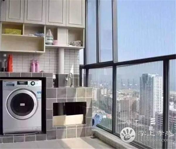 孝感阳台装修做洗衣池好吗?阳台装修做洗衣池的好处介绍[图1]