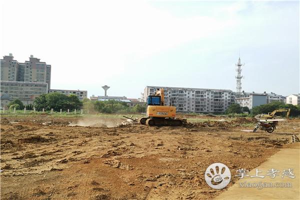 孝感远大学校8月最新工程进度:初中教学楼在建第二栋[图1]