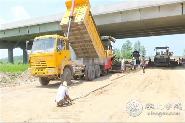 江汉平原货运铁路汉川福星货场连接线抢修正酿,将于2019年国庆节竣工[图1]