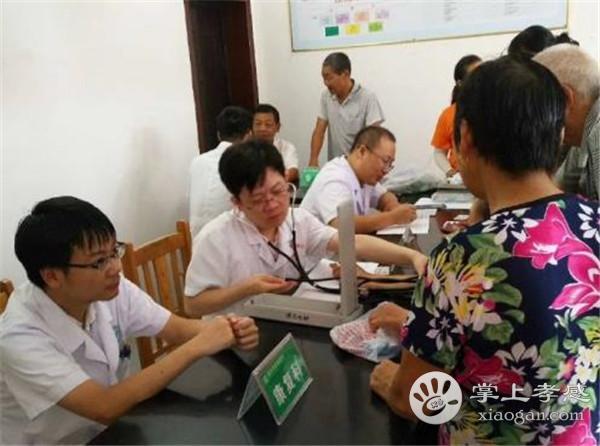 汉川市中医医院组织医疗服务队开展健康巡回义诊[图1]