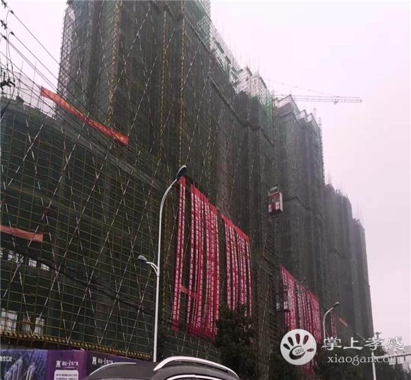 孝感润达壹号广场9月工程进度:国际星级酒店已建造11层、12号楼已建造到18层,生鲜市场已封顶[图1]