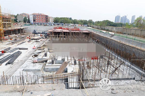 孝感东宸花园9月工程进度:1#、2#楼正在施工中[图2]