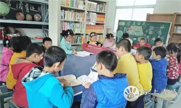 肖战爱心图书室在大悟县万畈小学落成![图3]