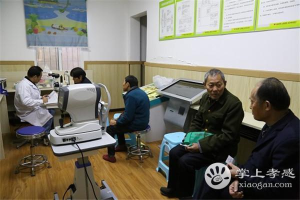 """""""健康快车""""白内障筛查组到应城市长江埠 开展免费筛查工作[图2]"""