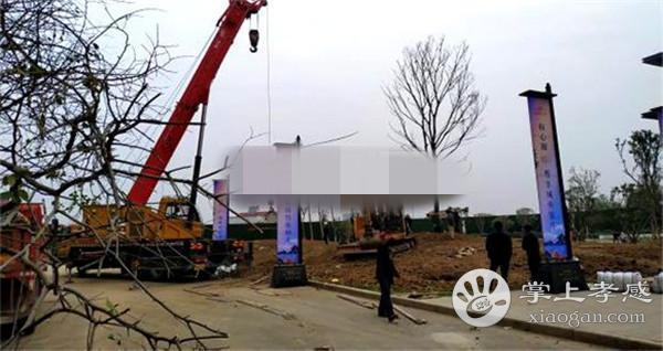 孝感力标·澴河壹号院景观公园施工中[图2]