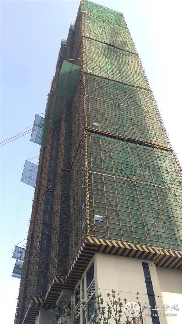 孝感保丽香颂11月最新工程进度:1#、2#、3#、10#主体结构已封顶![图2]