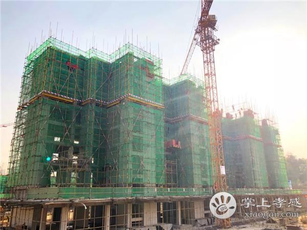 孝感鼎观世界11月工程进度:2号楼施工至7层[图2]
