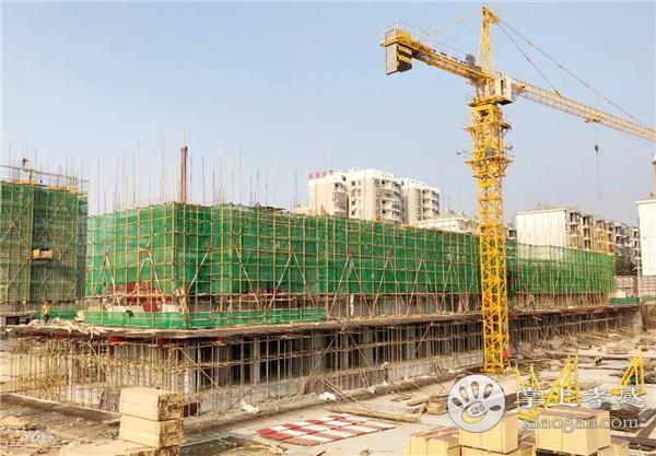 孝感鼎观世界11月工程进度:2号楼施工至7层[图3]