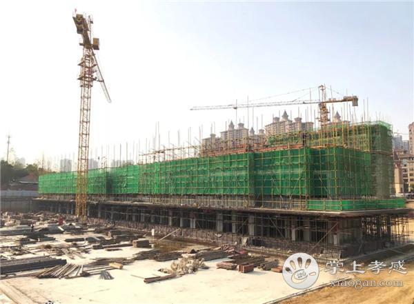 孝感鼎观世界11月工程进度:2号楼施工至7层[图4]