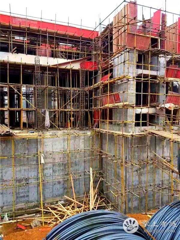 孝昌鼎观壹號院11月工程进度播报:1#、2#楼施工至基础层三层,营销中心外立面施工完成80%[图3]