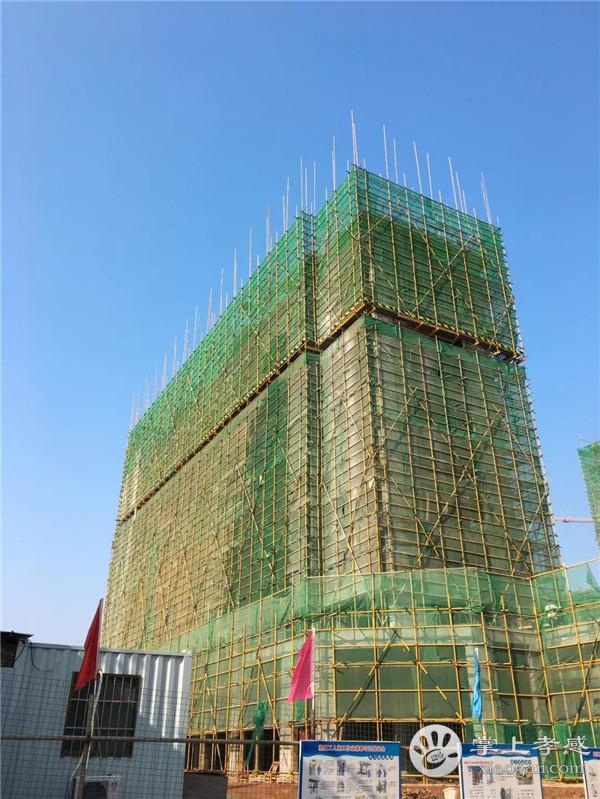 安陆水岸华府12月工程进度:1#楼主体十六层施工至十层完成,2#楼主体十六层施工至主体六层[图1]