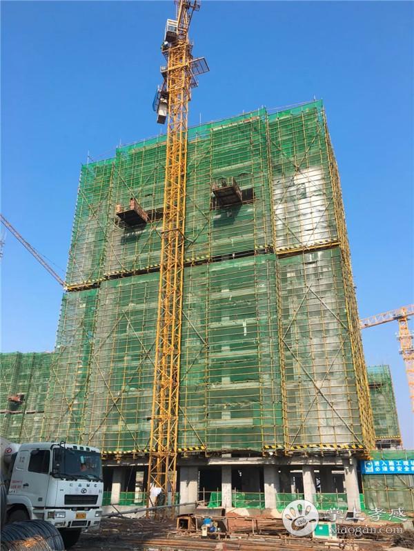 安陆水岸华府12月工程进度:1#楼主体十六层施工至十层完成,2#楼主体十六层施工至主体六层[图4]