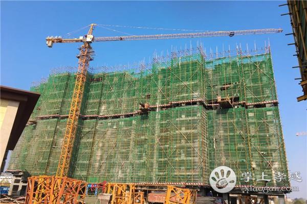 安陆水岸华府12月工程进度:1#楼主体十六层施工至十层完成,2#楼主体十六层施工至主体六层[图3]