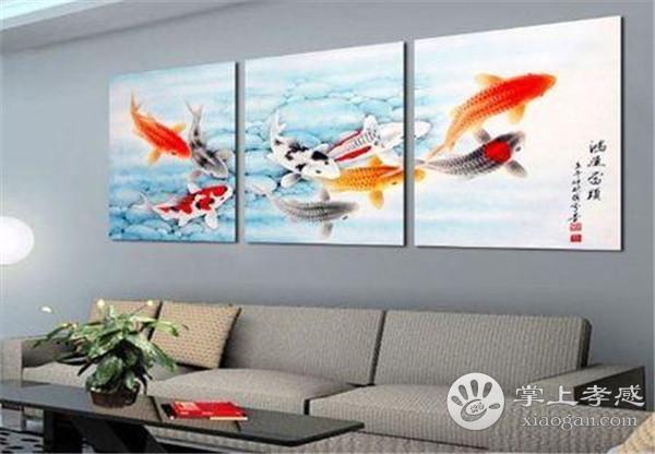 孝感客厅装修挂什么画比较好?什么系列的画适合挂在客厅[图3]