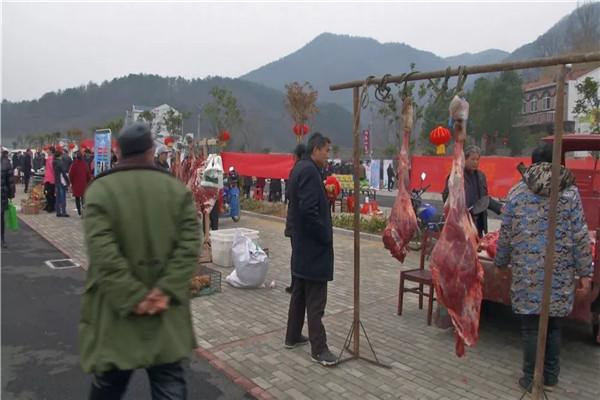 美好祝福红火年,孝昌观音湖举办腊八年货节!