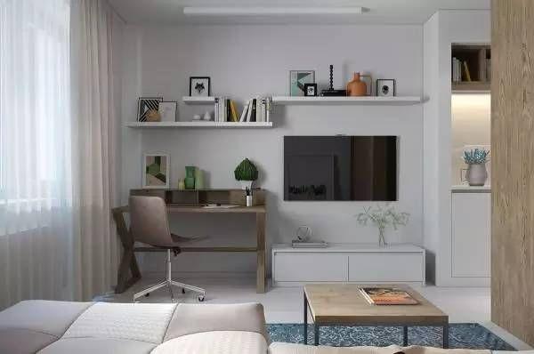 孝感房屋装修书桌可以放在客厅吗?客厅书桌摆放位置介绍