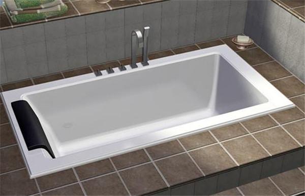孝感装修卫生间浴缸选独立式还是嵌入式?独立式浴缸和嵌入式浴缸优缺点介绍