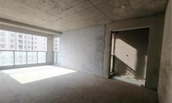 黄香小学万达之邻华耀天城 110平 3室2厅1卫 毛坯高层 证齐可贷款钥匙在手 86万