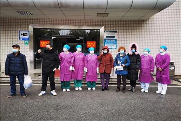 好消息!孝感市中心医院5名新型肺炎患者昨日康复出院!