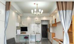北京南路 南方国际 大一居室单身公寓46平 温馨精装 可做饭 拎包 1500元/月