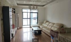 百佳豪庭119平精装房 三室两厅一卫 2200元/月