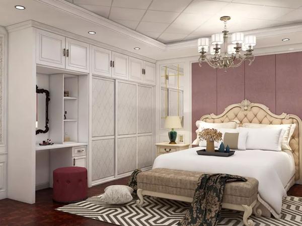 孝感卧室装修选择带梳妆台的衣柜好不好?带梳妆台的衣柜有什么好处?