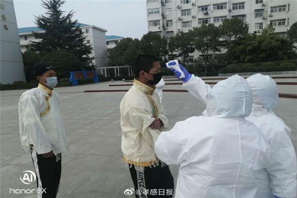 孝感市滞留在孝外地人员服务保障工作专班扎实做好孝感高中留校西藏学生服务保障工作