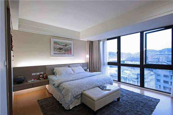 孝感卧室装修地毯需要铺满吗?卧室地毯是选择全铺还是半铺?