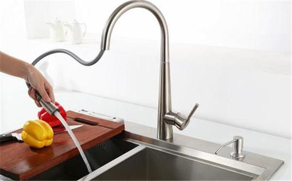 孝感新房装修哪些地方可以用到抽拉式水龙头?适合安装抽拉式水龙头的位置介绍