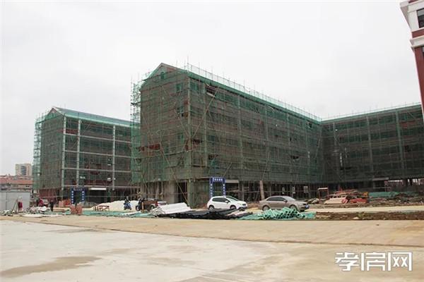 孝感远大学校3月30日新工程进度:主体封顶,完善内外装修