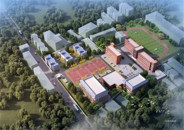 好消息!甘肃11选5基本走势图这所高级中学即将开始扩建!