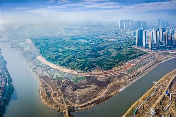 """孝感""""濱河新城""""對外招商,將打造2000畝高端新城區!"""