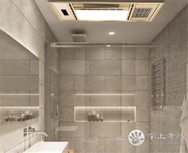 孝感卫生间装修暖风机安装在哪里好?卫生间暖风机安装位置介绍[图1]