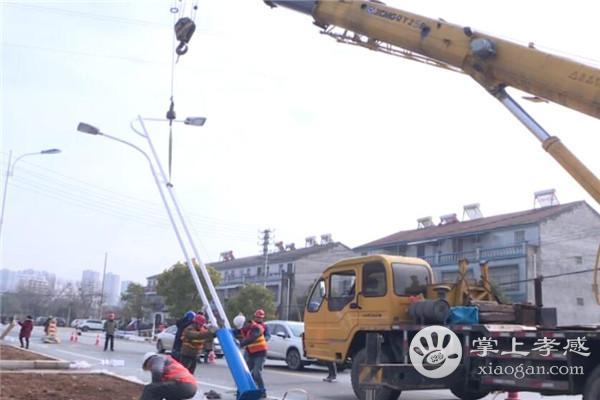 应城一桥至矿山公园路段将安装380盏路灯 1月12日前完成亮化工程[图1]