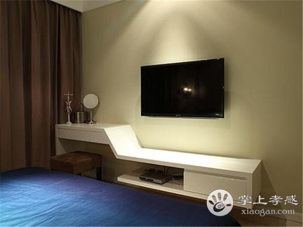 孝感卧室装修有必要买电视柜吗?卧室摆放电视柜好不好?[图4]