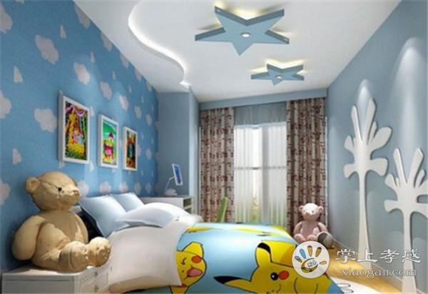 孝感儿童房装修吊顶要如何设计?儿童房吊顶设计要点介绍[图2]